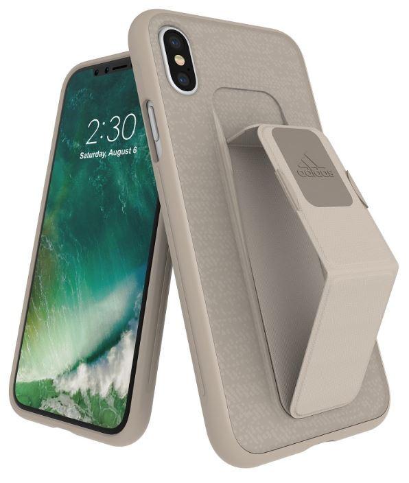 Adidas Iphone XS (2018) Sport Edition Grip Back Phone Case Sesame