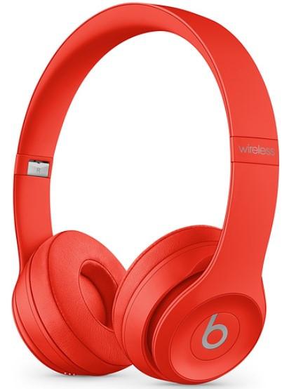 Beats Solo 3 Wireless Headphone Red